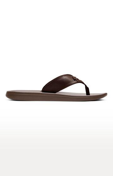 Nike | Nike Brown Kepa Kai 2 Lea Flip flops
