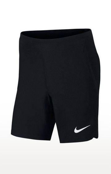 Nike | Black Solid Pro Flex Repel Shorts