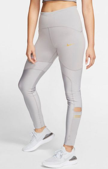 Nike | Grey Solid Speed Tights