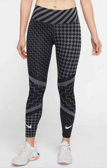 Nike | Black Printed Epic Lux Tights