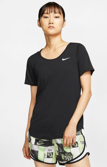 Nike | Black Nike Solid T-Shirt