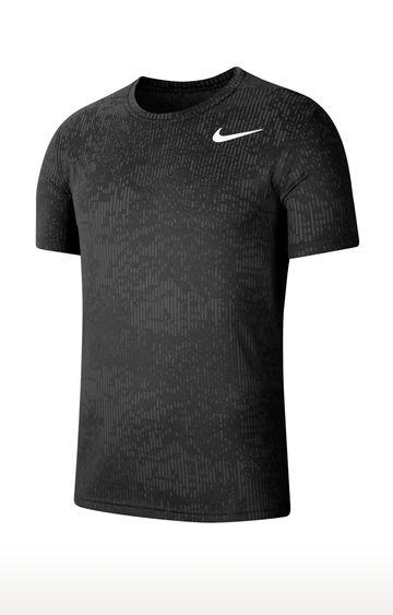Nike | Black Superset Melange T-Shirt