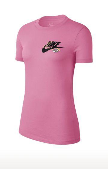 Nike | Pink Printed T-Shirt