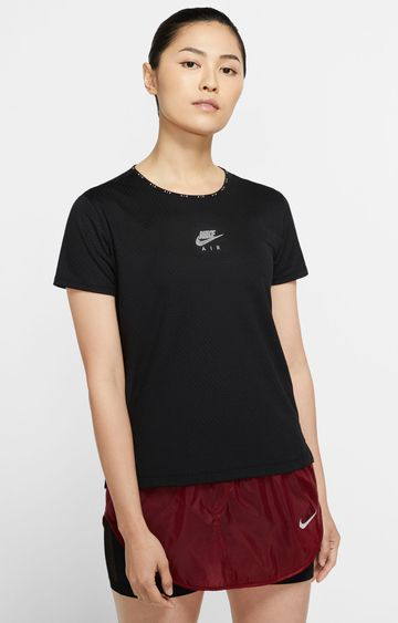 Nike | Black Air Printed T-Shirt