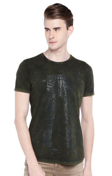 Killer   Green Printed T-Shirt