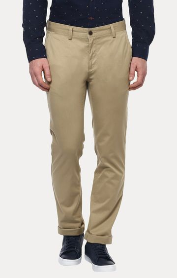 Turtle | Beige Straight Chinos