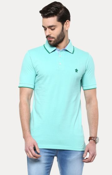 Turtle | Green Solid T-Shirt