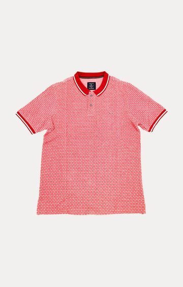 Turtle | Red Checked Polo T-Shirt