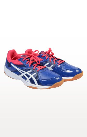 Asics | Asics Blue Badminton Shoes