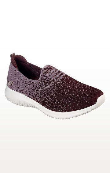 Skechers | Purple Ultra Flex - Cozy-Day Trainers