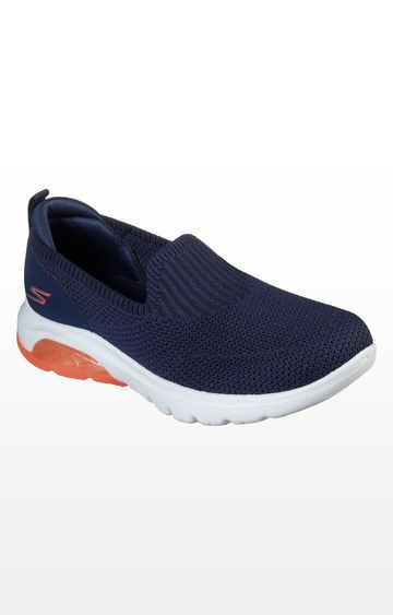 Skechers | Navy Go Walk Air Trainers