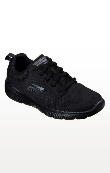 Skechers | Black Flex Advantage 3.0 Sports Shoes