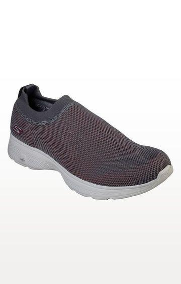 Skechers | SKECHERS Go Walk 4 Intend Round Toe Slip-Ons WALKING SHOE