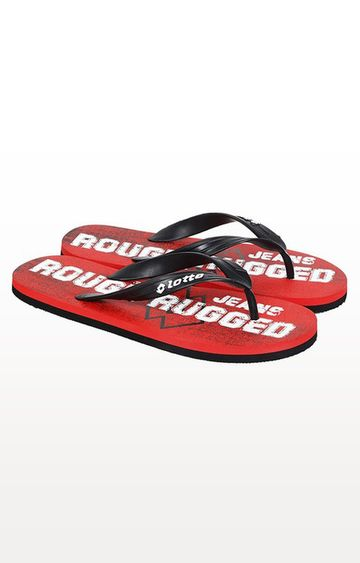 Lotto | Lotto Men's Vittoria Red Slippers