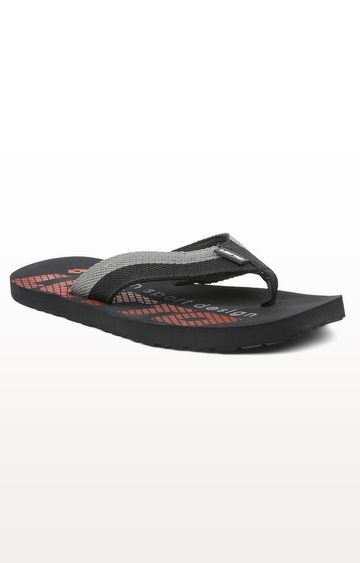 Lotto | Lotto Black and Red Talian Flip Flops