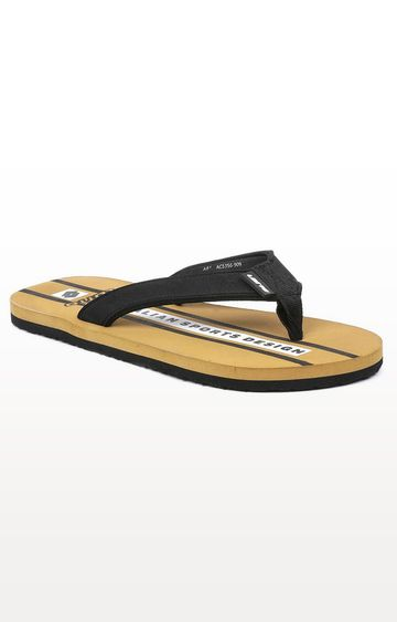 Lotto | Lotto Brown and Black Sconto Flip Flops