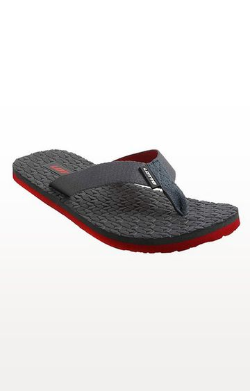 Lotto | Lotto Men's Pesca Grey/ Red Slippers