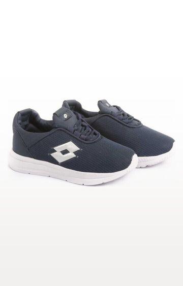 Lotto | Lotto Kid's Remo Blue/White School Shoes