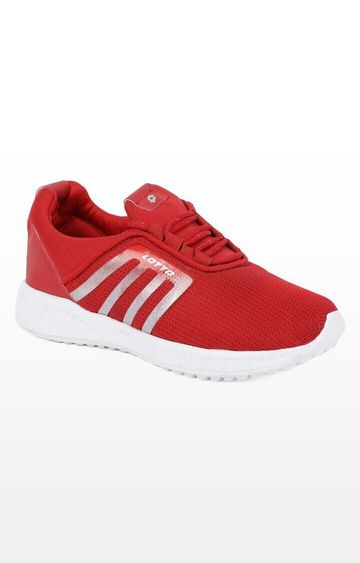 Lotto | Lotto Kid's Elio Red/White School Shoes