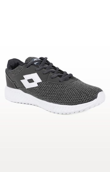 Lotto | Lotto Kid's Oliver Grey/White School Shoes