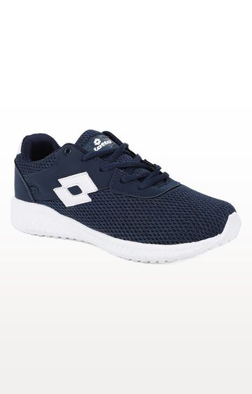Lotto | Lotto Kid's Oliver Navy/White School Shoes