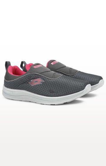 Lotto | Lotto Women's Flora SL W Grey/Pink Walking Shoes