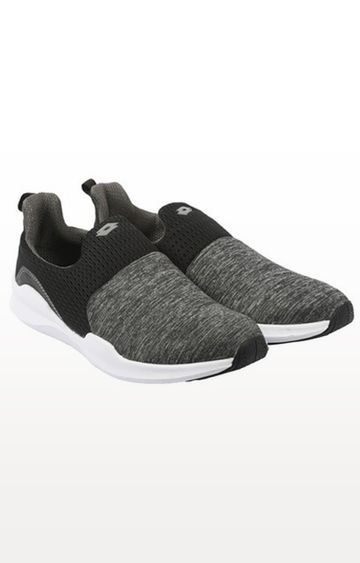 Lotto | Lotto Grey and Black Amerigo III SL Walking Shoes