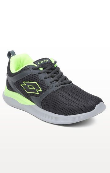 Lotto | Lotto Men's Timbro Grey/Lime Walking Shoes