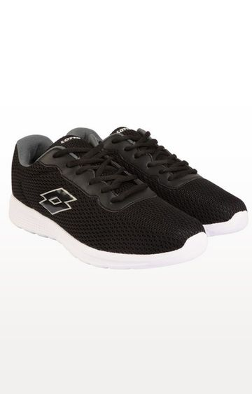 Lotto | Lotto Black and White Sconto Walking Shoes