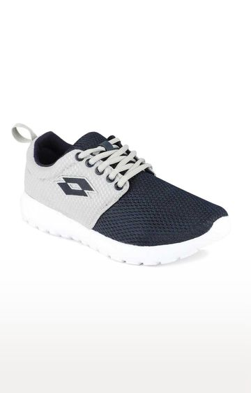 Lotto | Lotto Grey and Navy Carmela Running Shoes