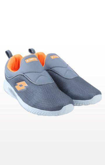 Lotto | Lotto Men's Amedio Grey/Orange Training Shoes
