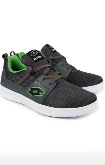 Lotto | Lotto Men's String Grey /Green Running Shoes
