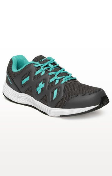 Lotto | Lotto Grey and Sky Blue Sleek Running Shoes