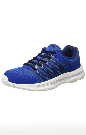 Lotto | Lotto Men's Adriano White/R. Blue Running Shoes