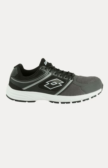Lotto | Lotto Men's Fausto Grey/Black Running Shoes