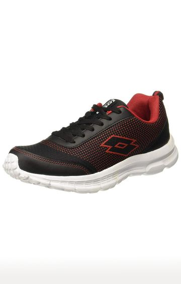 Lotto | Lotto Men's Highrun Black/Gold Running Shoes