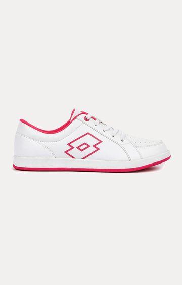 Lotto | Lotto Women's Logo Plus W White/ Pink Lifestyle Shoes