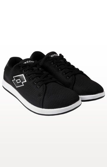 Lotto | Lotto Men's Lansing Black Lifestyle Shoes