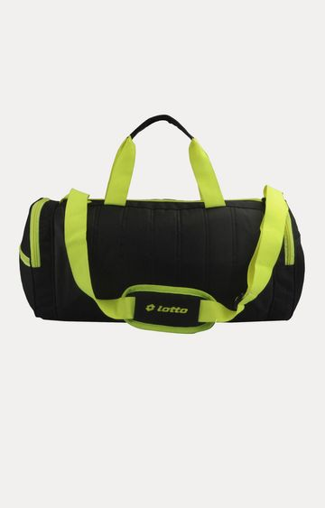 Lotto | Black Duffle Bag