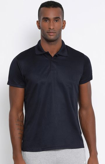Lotto | Navy Solid Polo T-Shirt