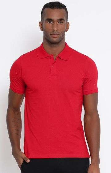 Lotto | Lotto Men's Polo Basic PC Red/Flame T-Shirt