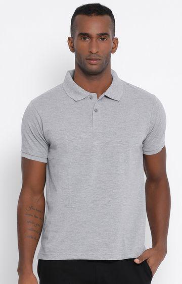 Lotto   Lotto Men's Polo Basic PC Dk Mel. Grey T-Shirt