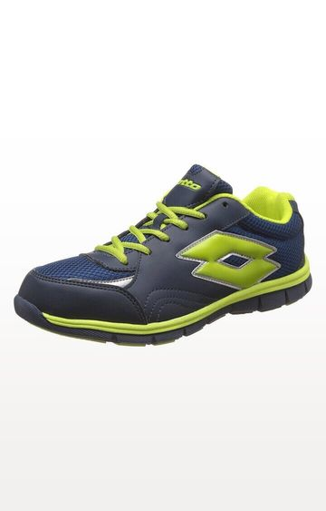 Lotto | Navy and Light Green Dolcevita Jr Running Shoes