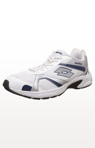 Lotto | Lotto White and Silver Crator Running Shoes