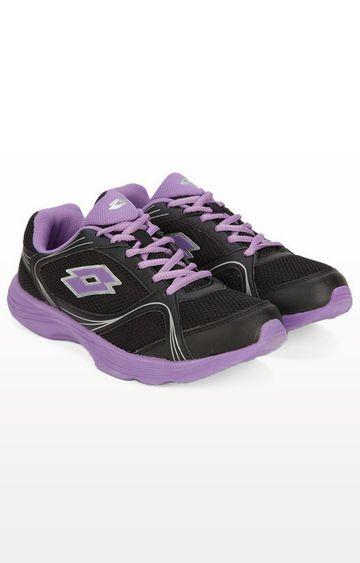 Lotto | Lotto Women's Runlite W Black/Purple Running Shoes