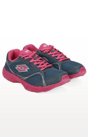 Lotto | Lotto Women's Runlite W Blue/Fuxia Running Shoes