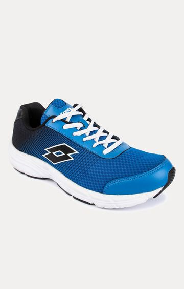 Lotto   Lotto Men's Lotto Jazz Snorkle Blue/Blk Running Shoes
