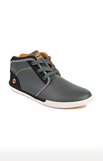 Lotto   Lotto Men's Sum Hi Dk. Grey/Orange Lifestyle Shoes