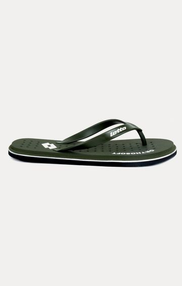 Lotto | Lotto Men's Ortho Soft Olive Slippers