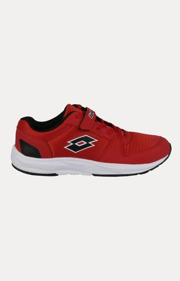 Lotto | Lotto Kid's Speed Jr Red/Blk Running Shoes